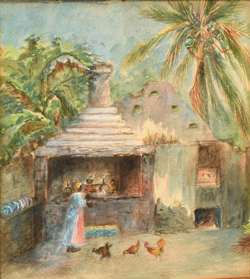 S.D. Chamberlain, painting - 2