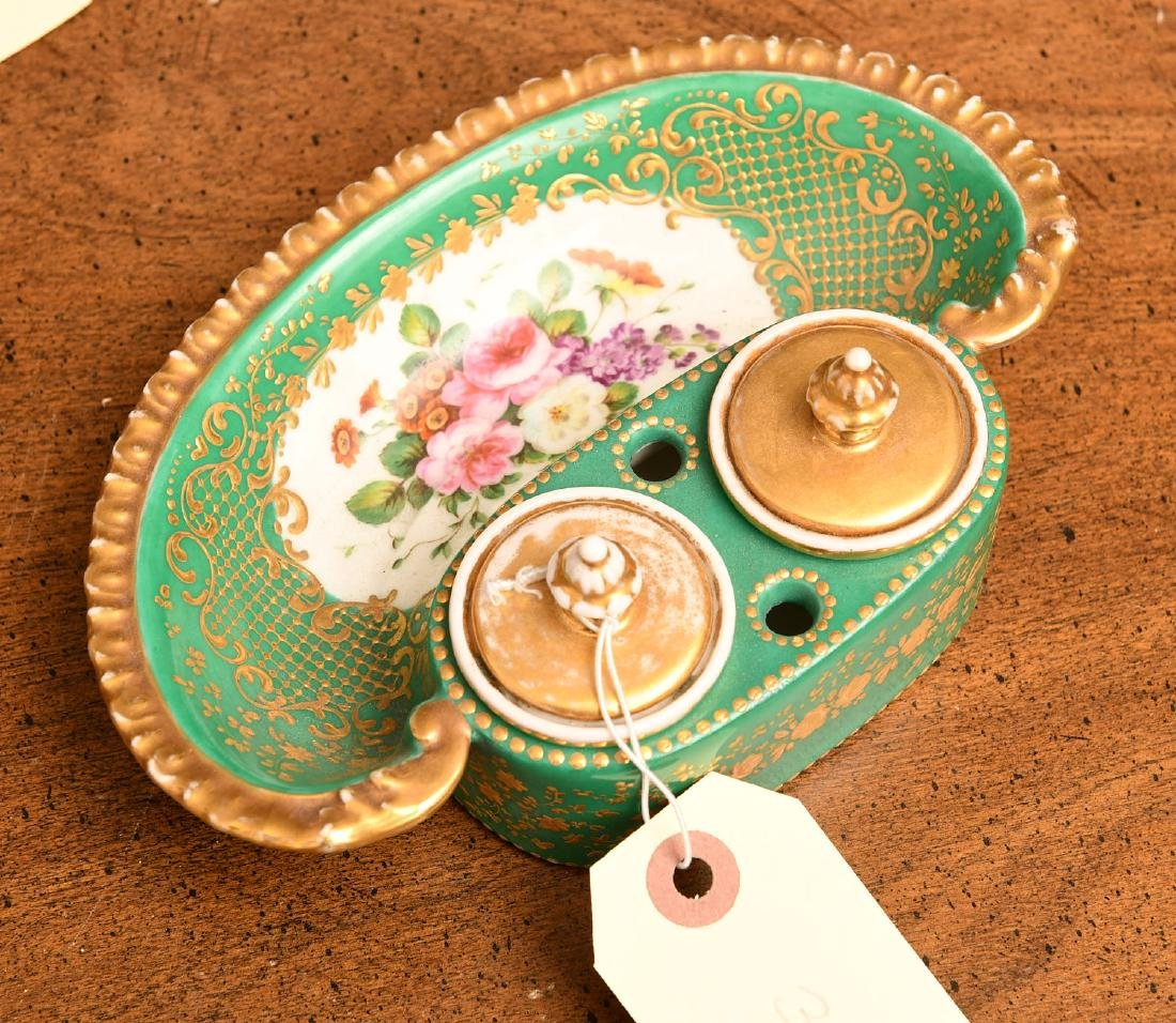 Collection (5) Sevres style porcelains - 8