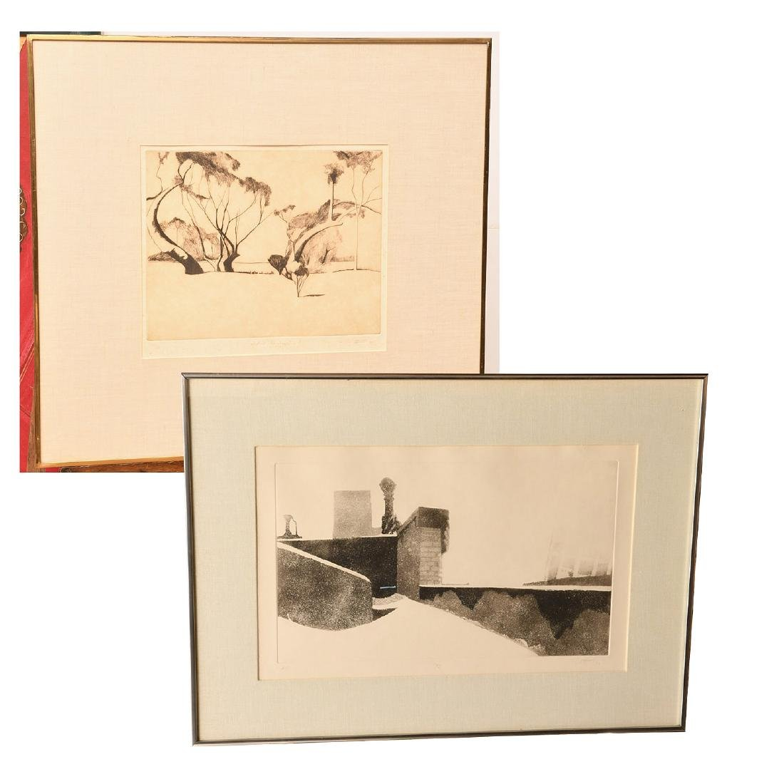 Pearson, (2) etchings