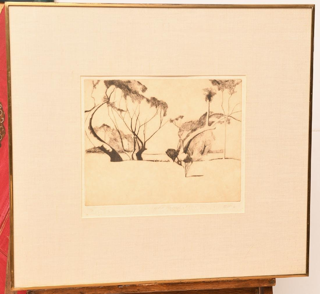 Pearson, (2) etchings - 2
