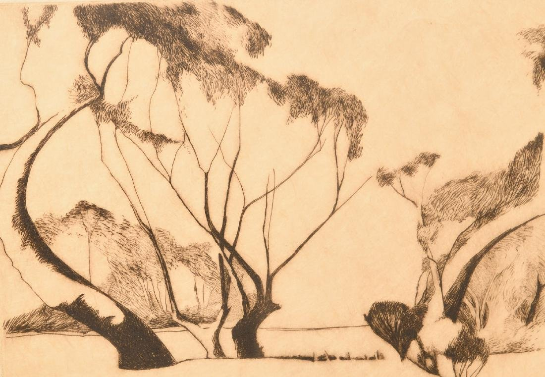 Pearson, (2) etchings - 3