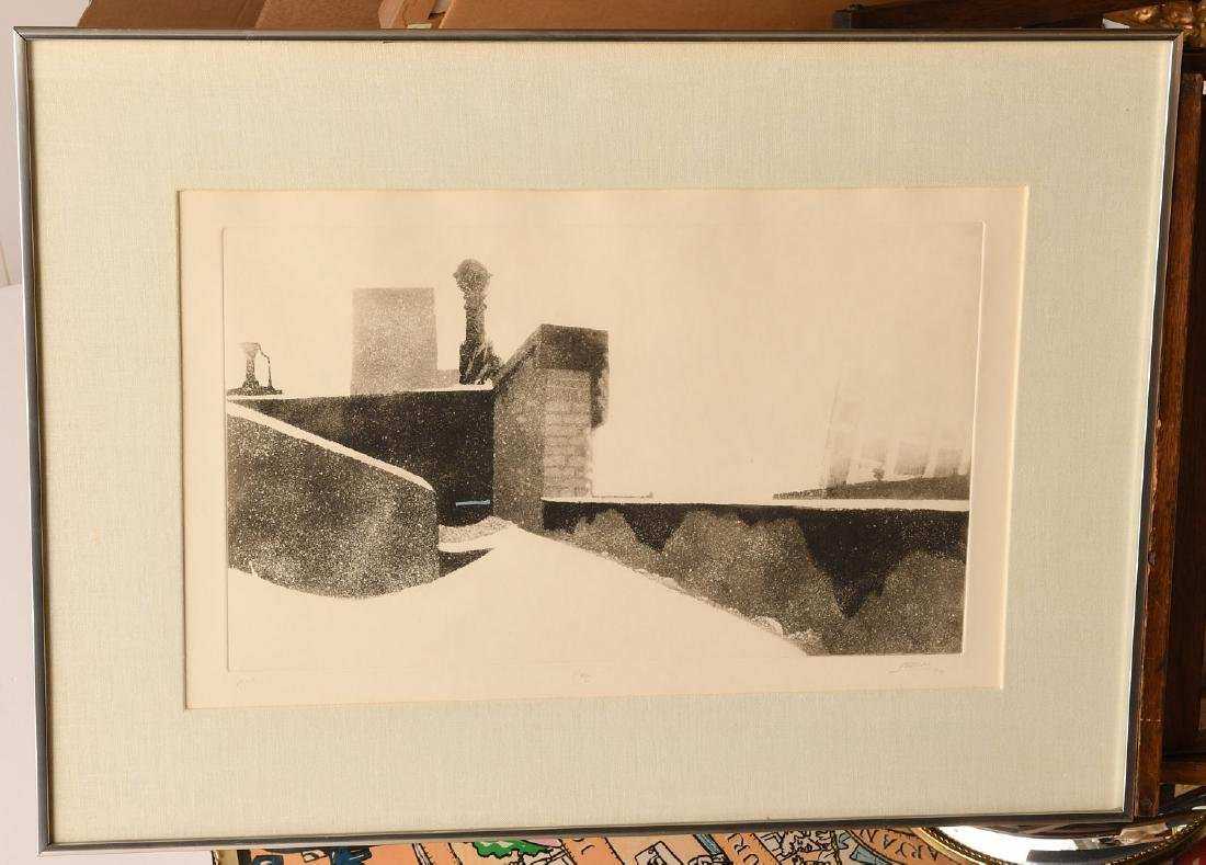 Pearson, (2) etchings - 7