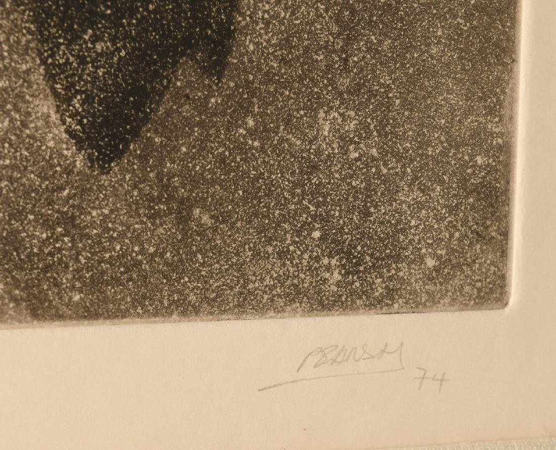 Pearson, (2) etchings - 9