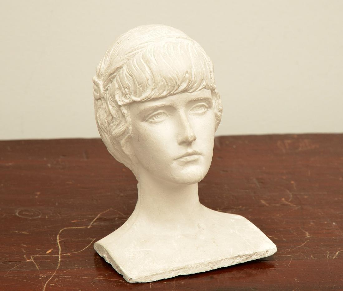 Mario Korbel, sculptural bust maquette