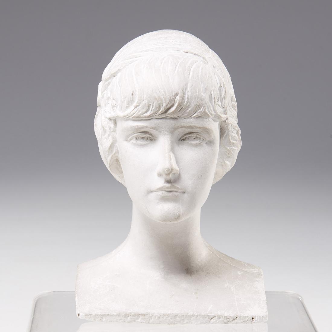 Mario Korbel, sculptural bust maquette - 2