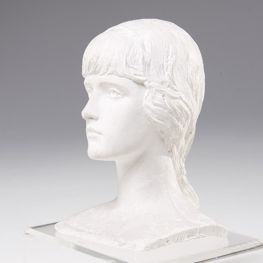 Mario Korbel, sculptural bust maquette - 3
