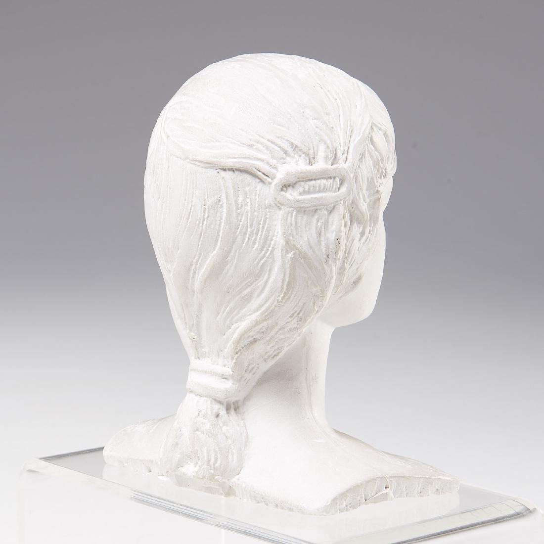Mario Korbel, sculptural bust maquette - 4