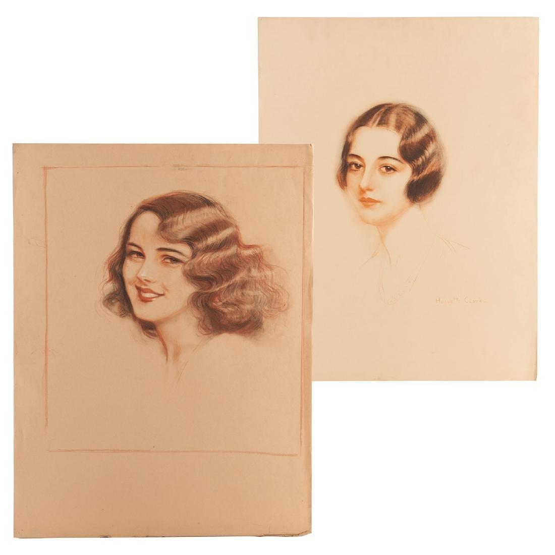 Huguette Clark, (2) prints