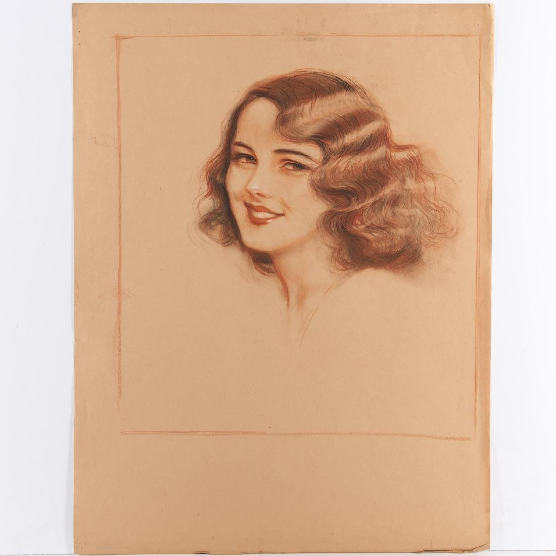 Huguette Clark, (2) prints - 2