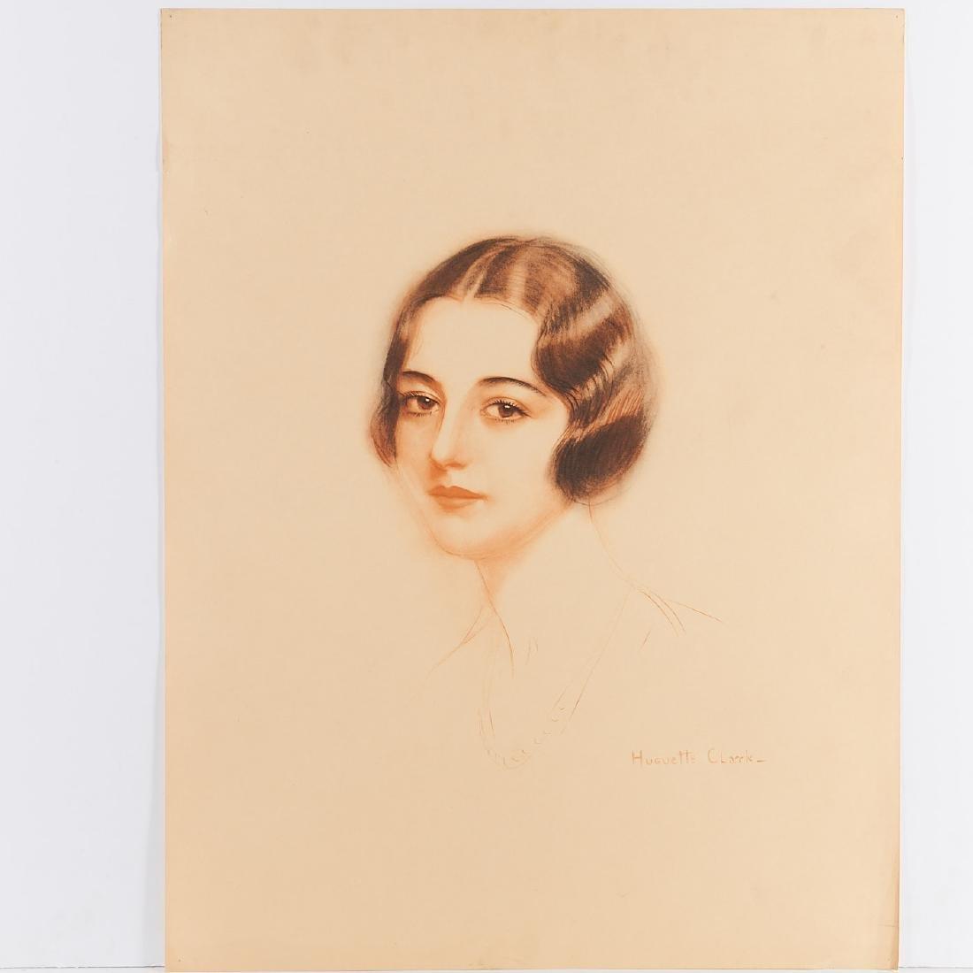 Huguette Clark, (2) prints - 3