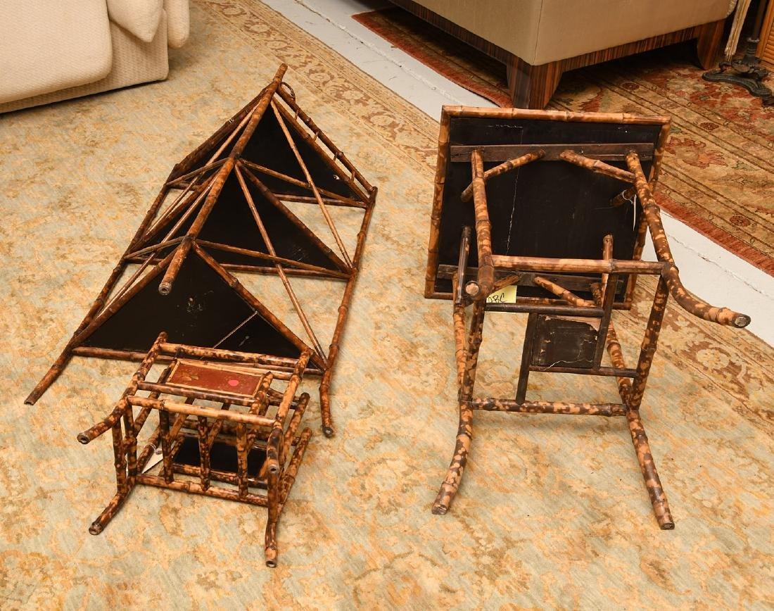 Group Brighton Pavilion style bamboo furniture - 6