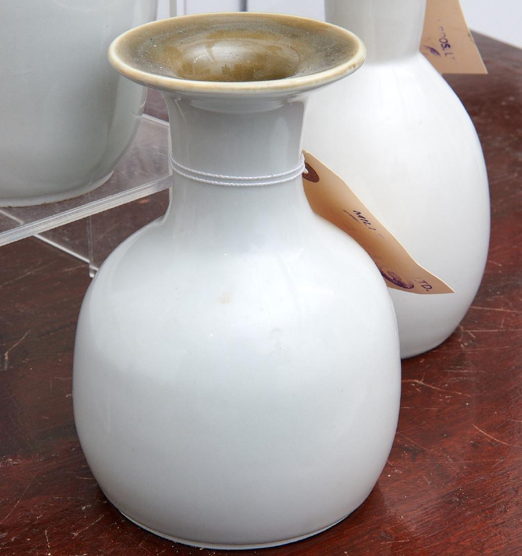 Set (4) studio ceramic vases - 2