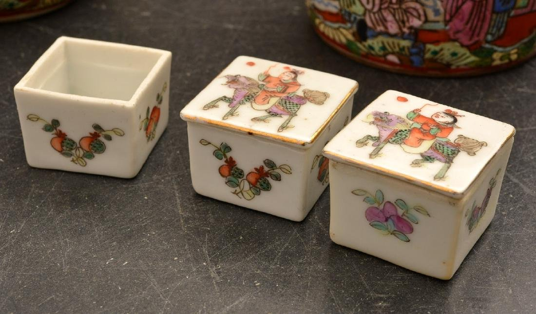 (11) Chinese porcelain miniatures - 2