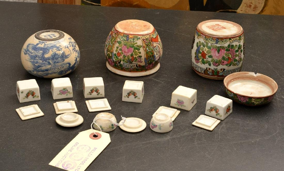 (11) Chinese porcelain miniatures - 9