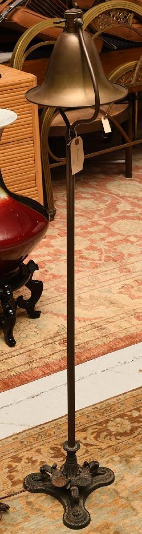 Handel-style floor lamp