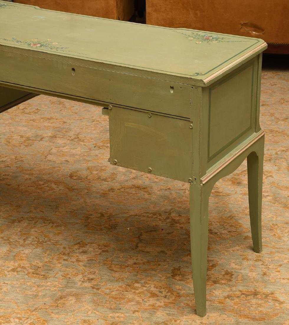 Vintage hand-painted floral desk - 4