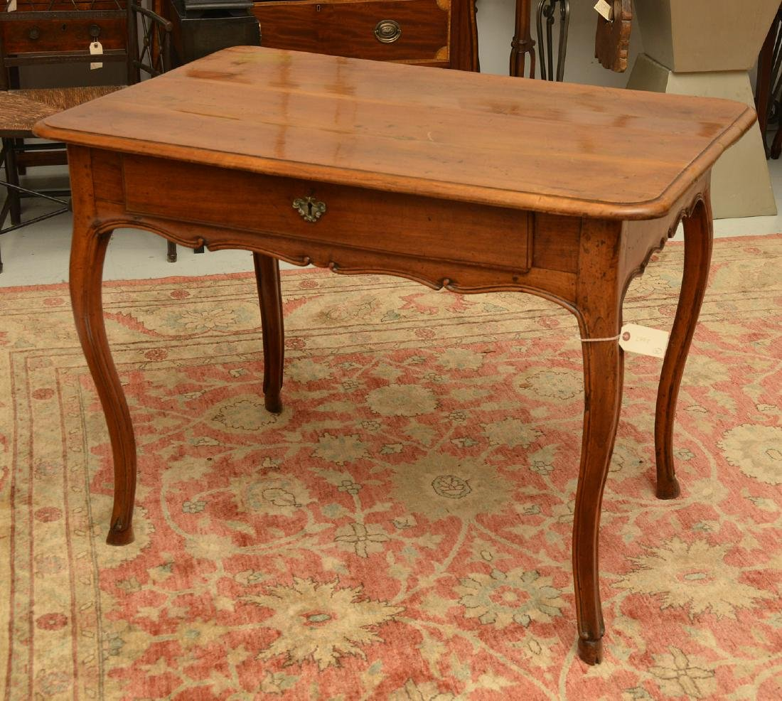 Provincial Louis XV style writing table