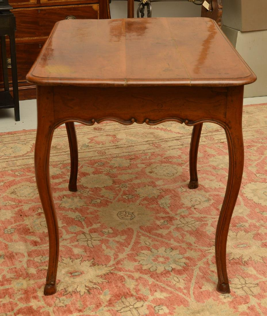 Provincial Louis XV style writing table - 6