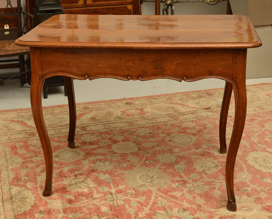 Provincial Louis XV style writing table - 8