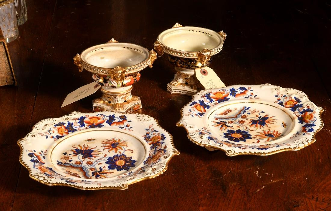 Group (4) ceramics incl. Crown Derby