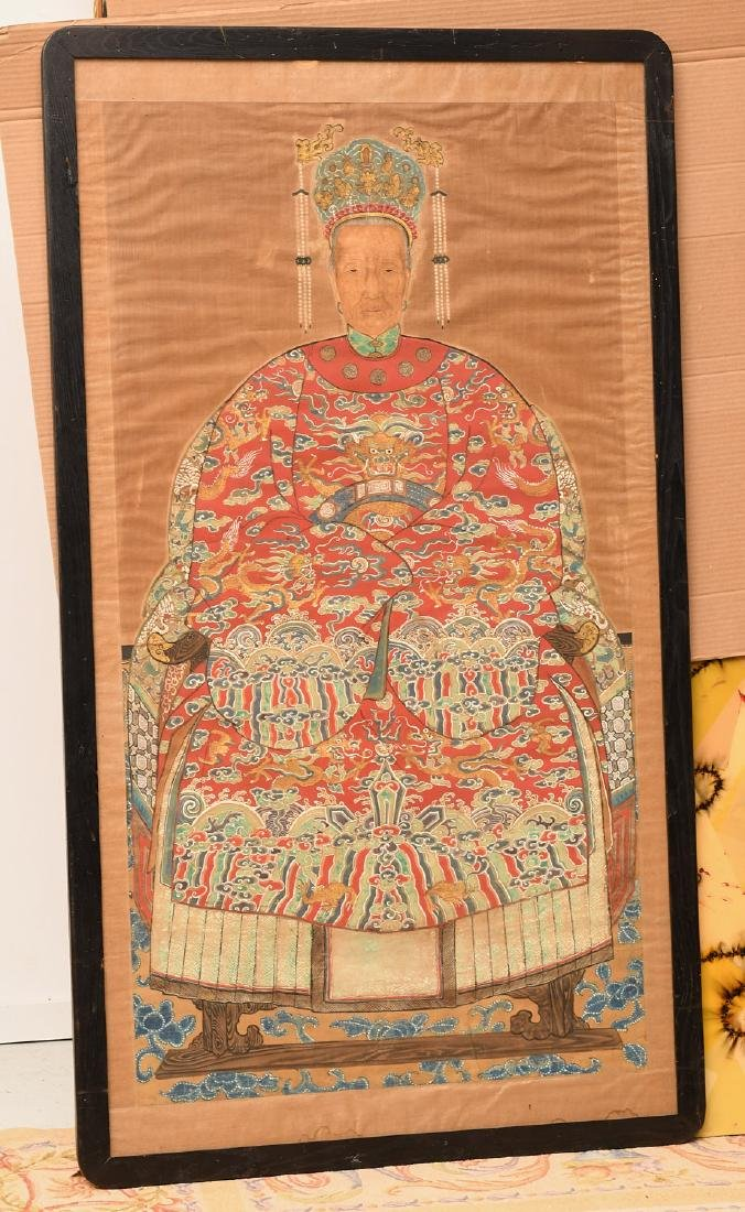 Large Chinese ancestral portrait
