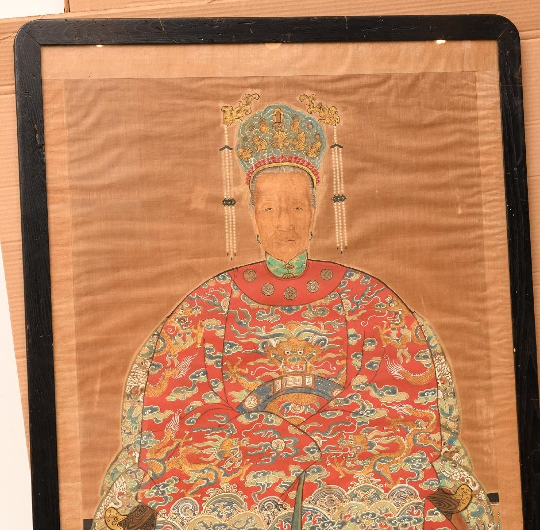 Large Chinese ancestral portrait - 2