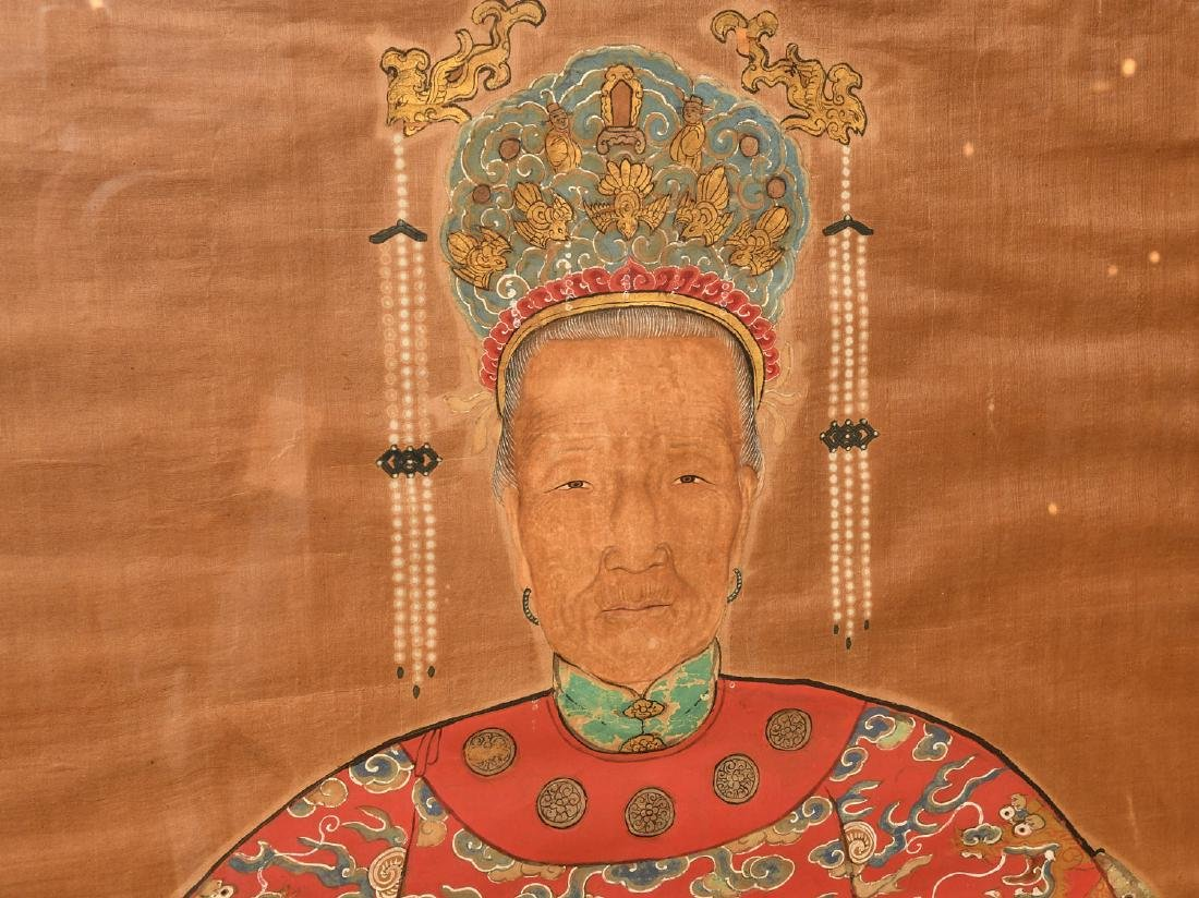 Large Chinese ancestral portrait - 4