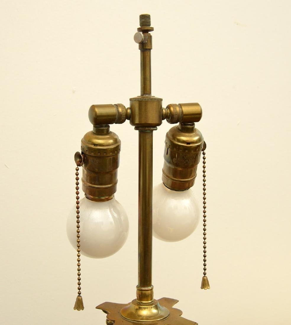 Empire style bronze table lamp - 3