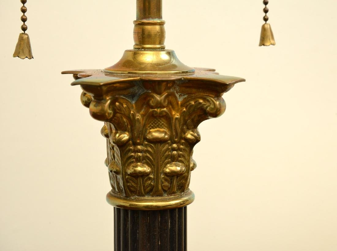 Empire style bronze table lamp - 4