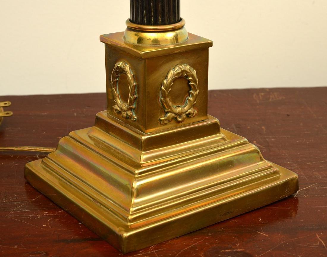 Empire style bronze table lamp - 5