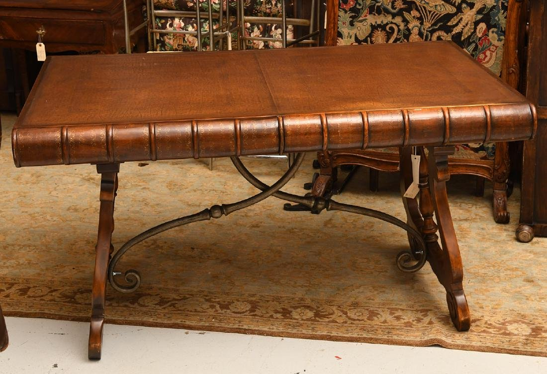 Theodore Alexander faux book writing desk