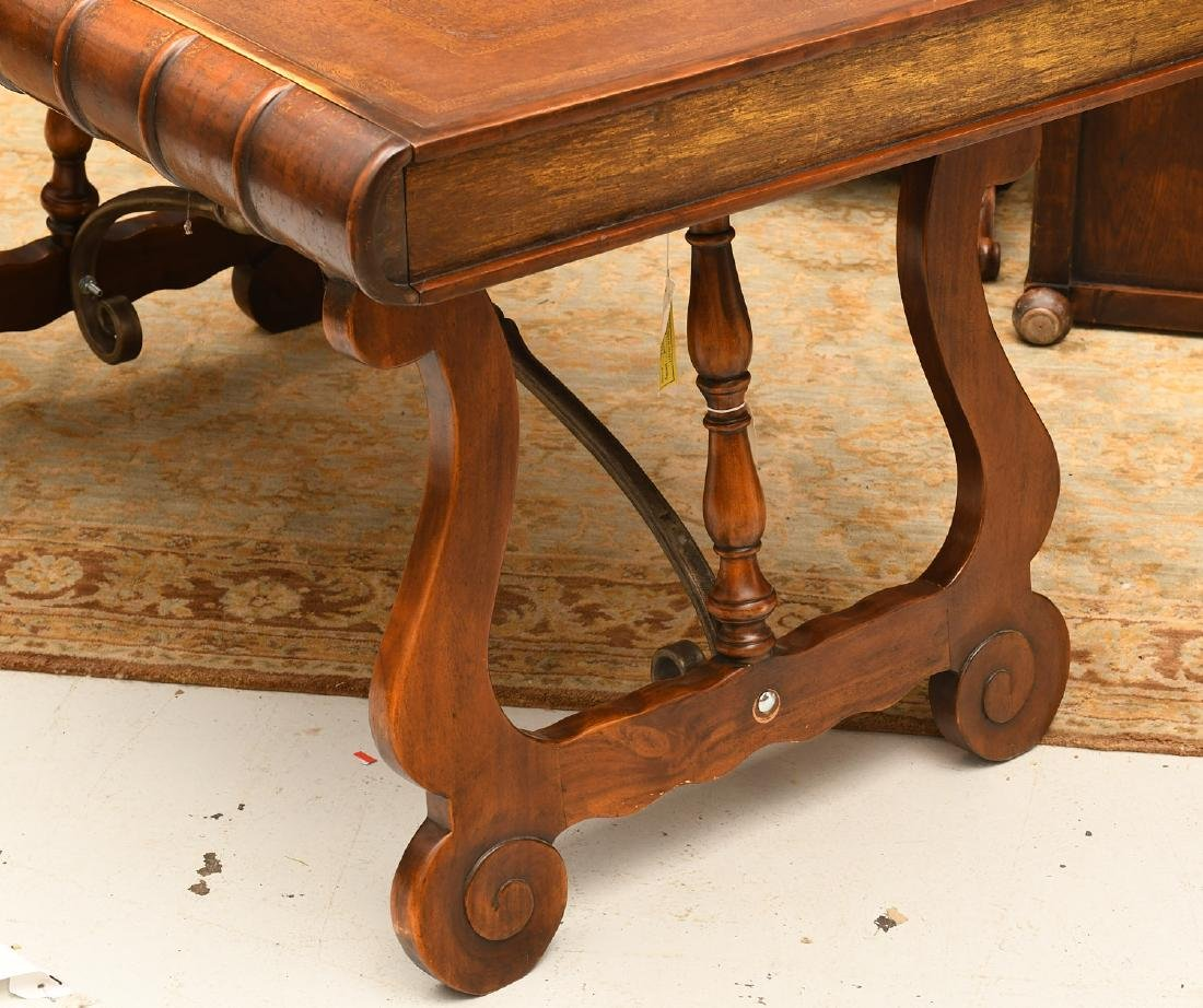 Theodore Alexander faux book writing desk - 6
