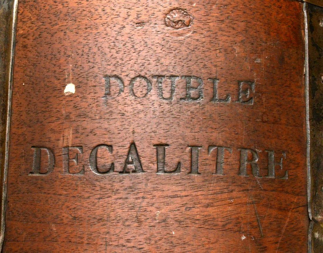 (2) French grain measuring pails - 3