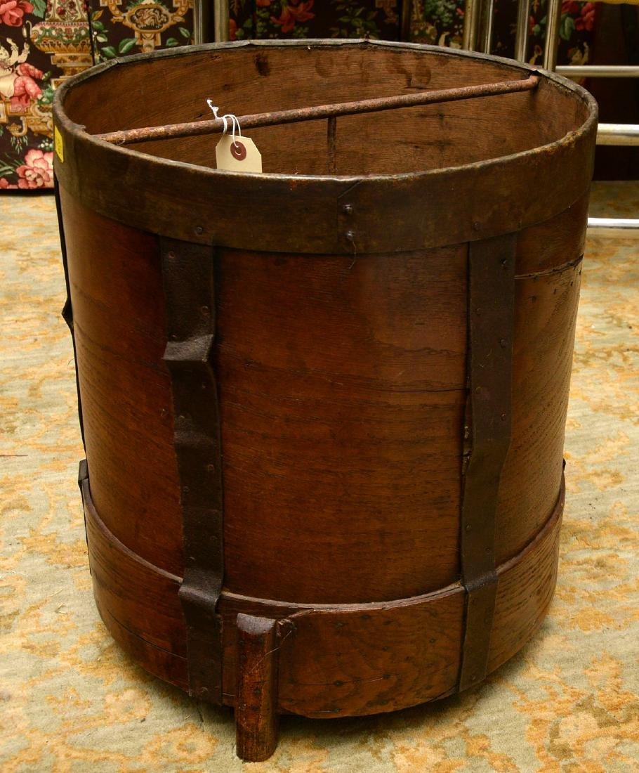 (2) French grain measuring pails - 4