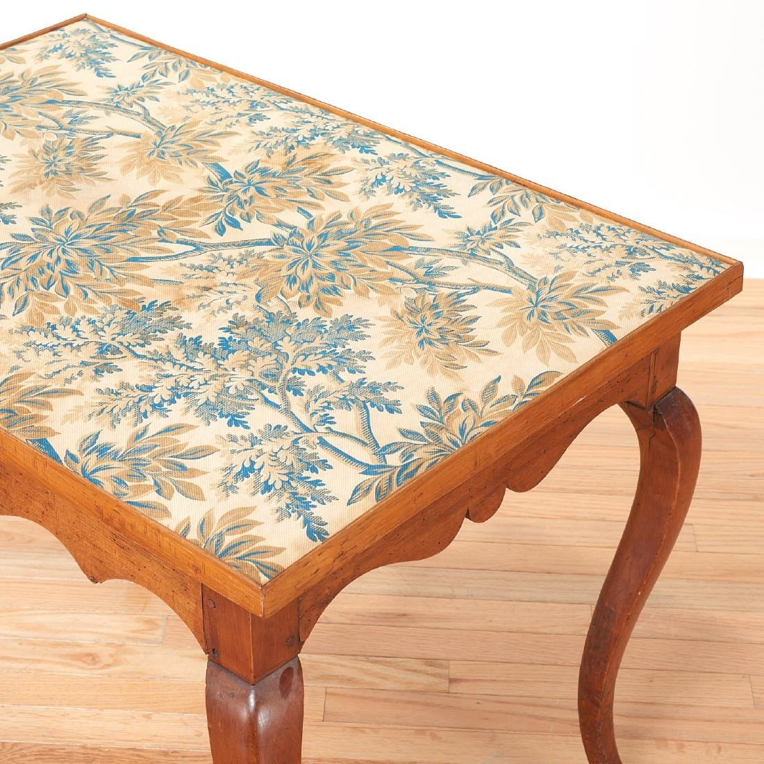 Antique French Provincial card table - 3