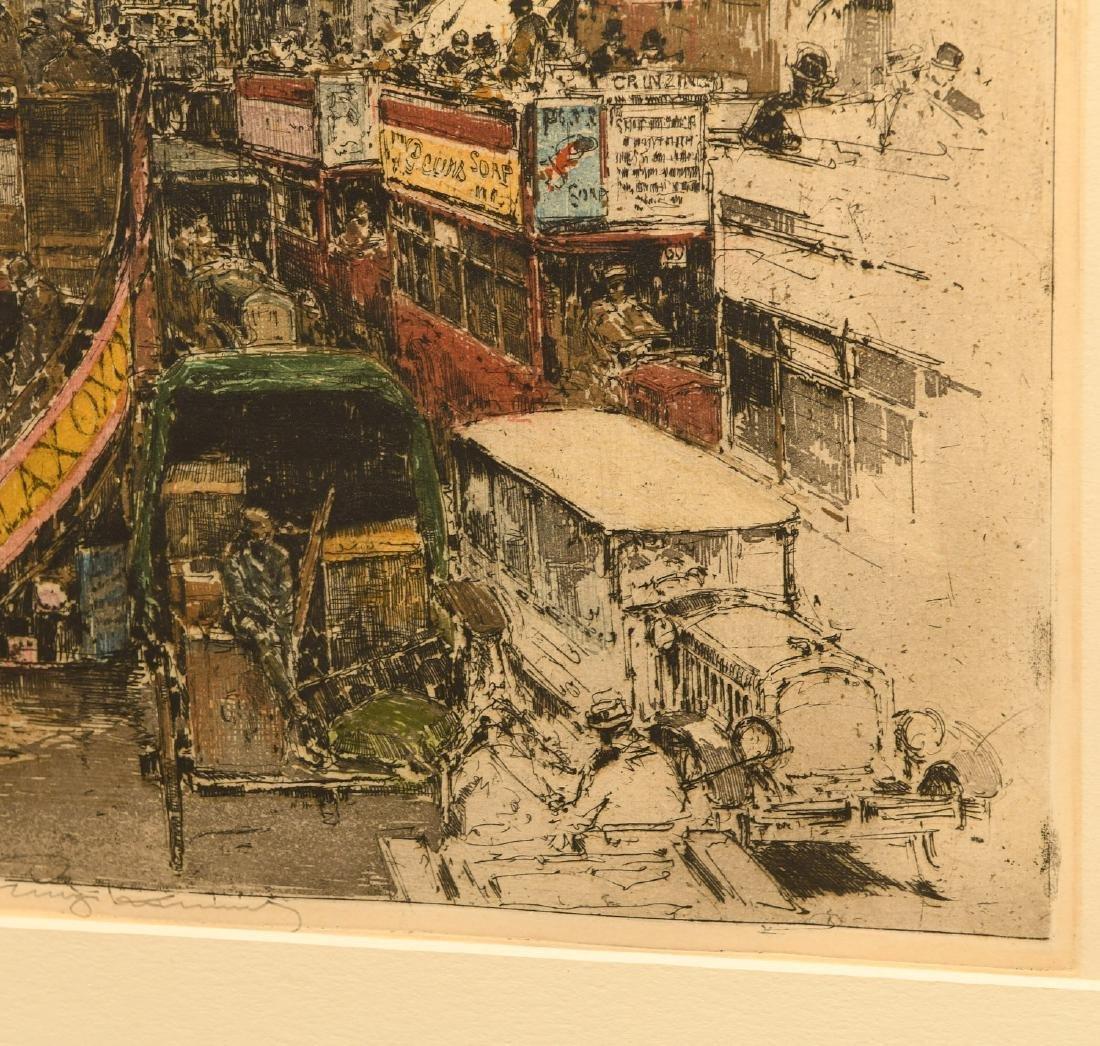 Luigi Kasmir, etching - 3