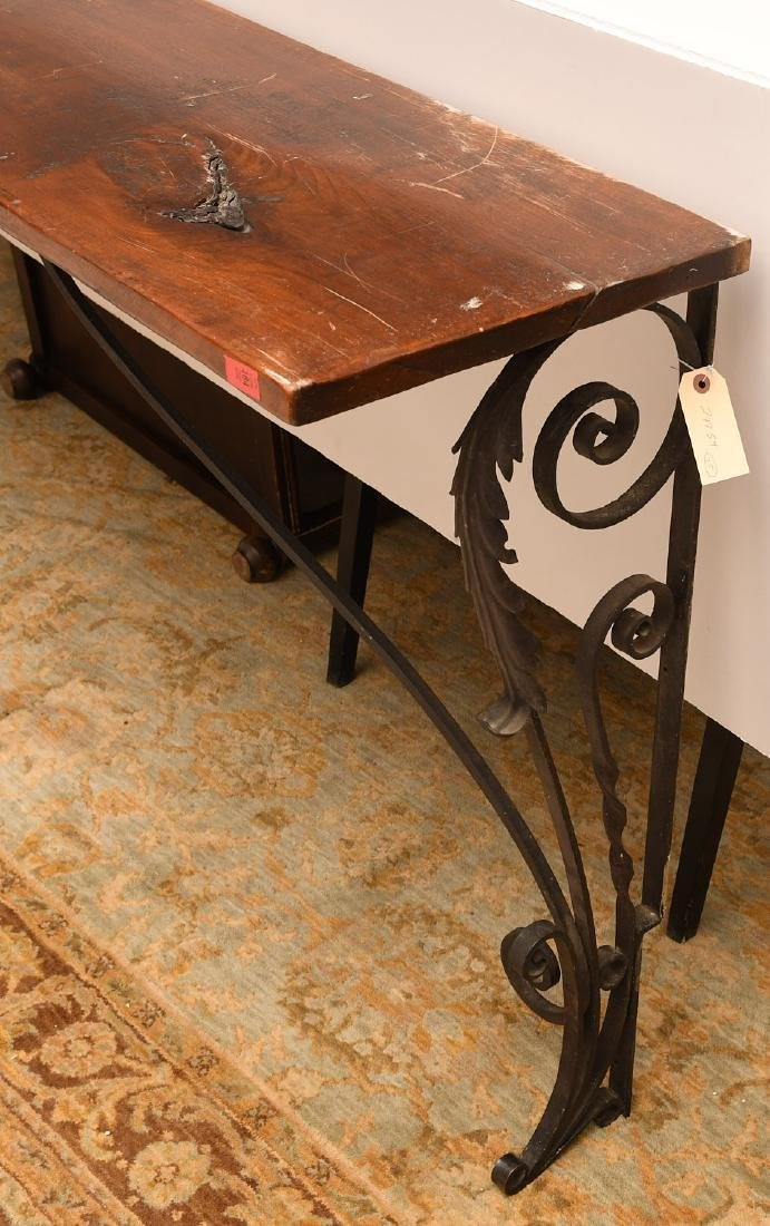 Spanish style console table - 2