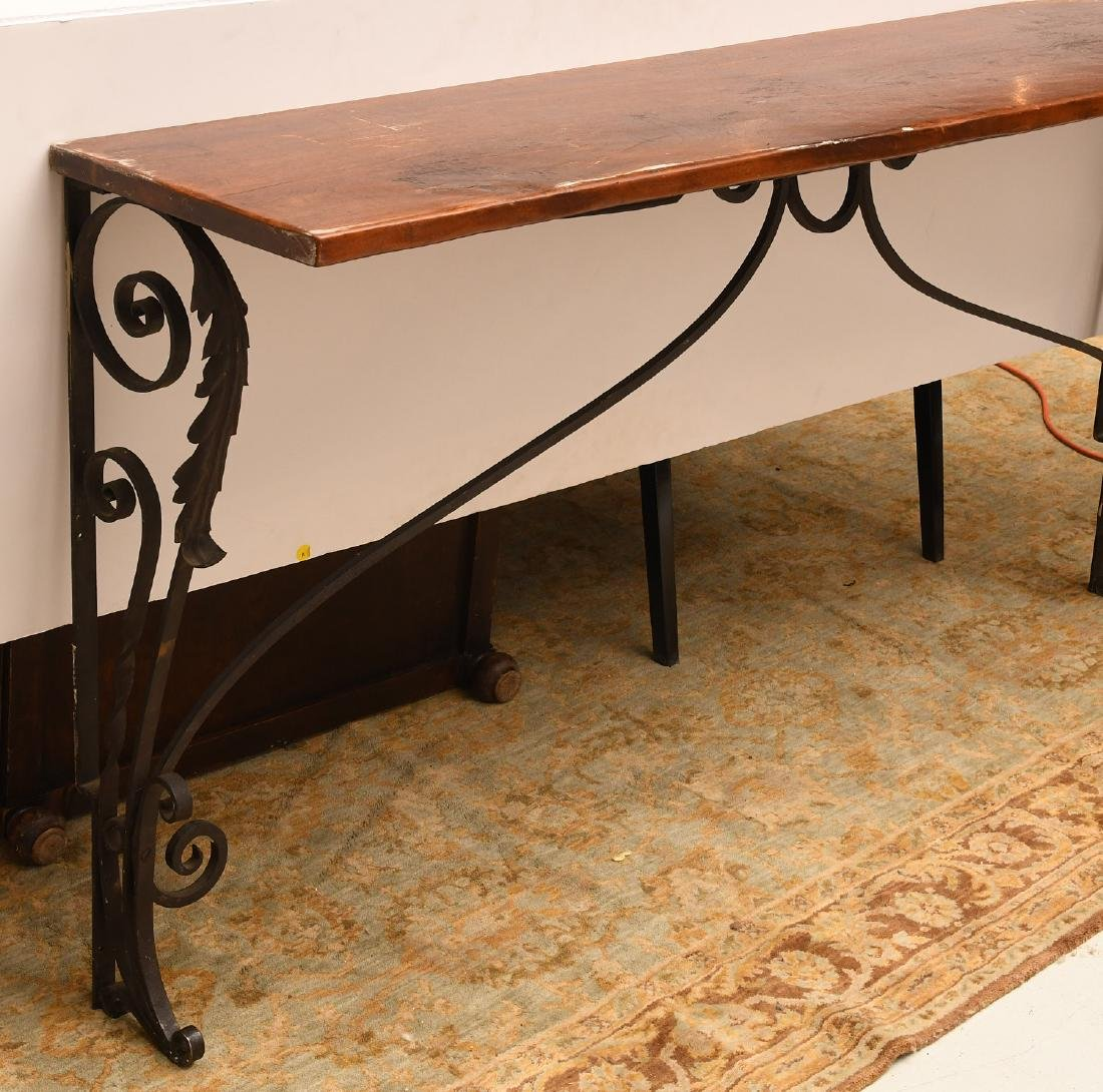 Spanish style console table - 3