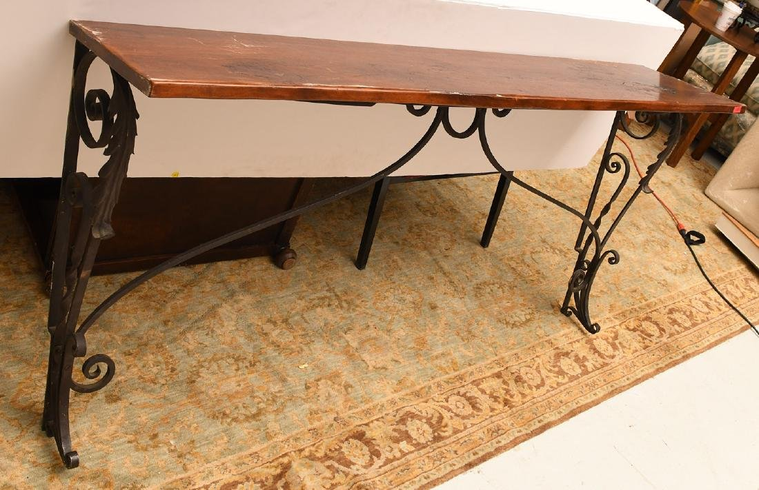 Spanish style console table - 4