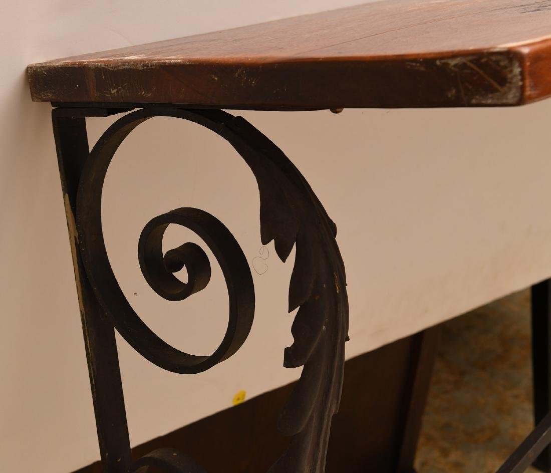 Spanish style console table - 5