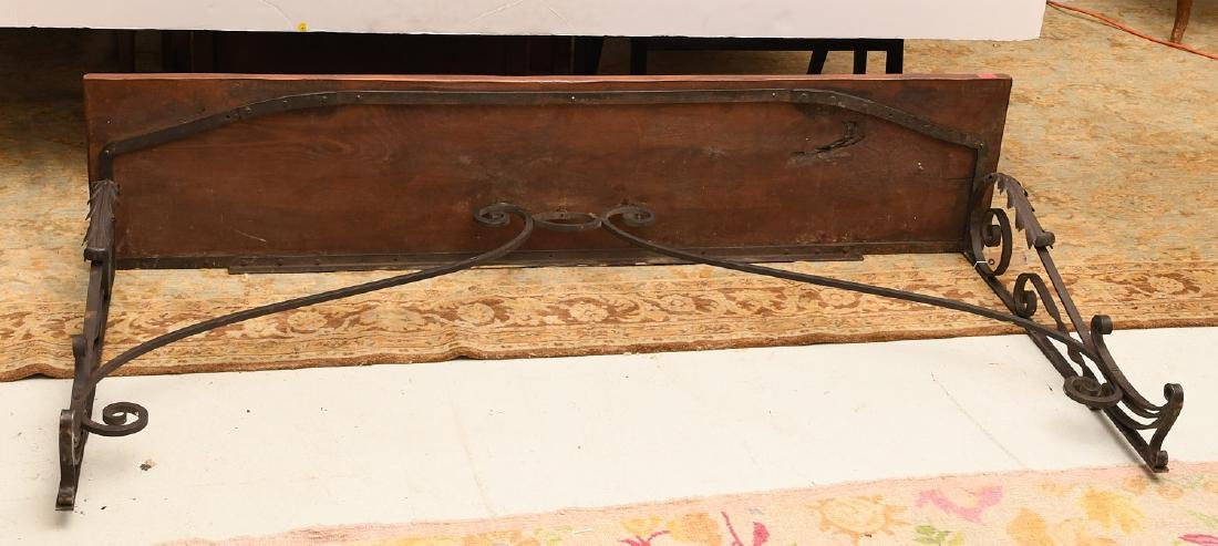 Spanish style console table - 7