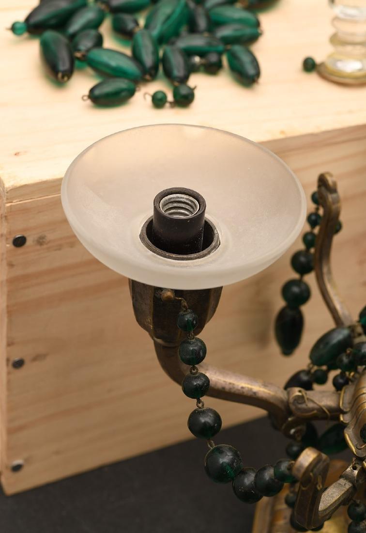 M. Paignant Art Deco candelabrum lamp - 2