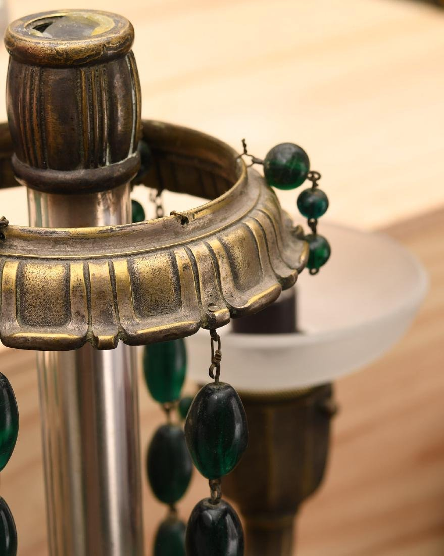 M. Paignant Art Deco candelabrum lamp - 3
