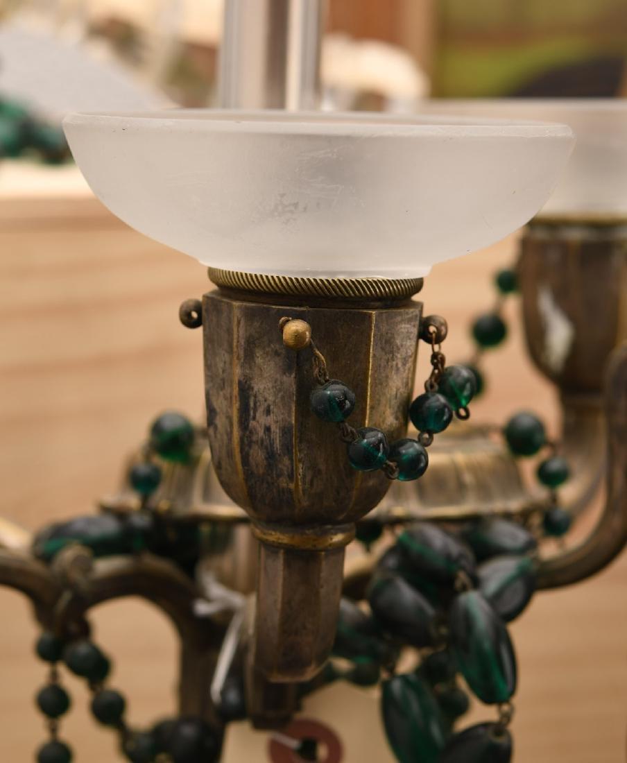 M. Paignant Art Deco candelabrum lamp - 5