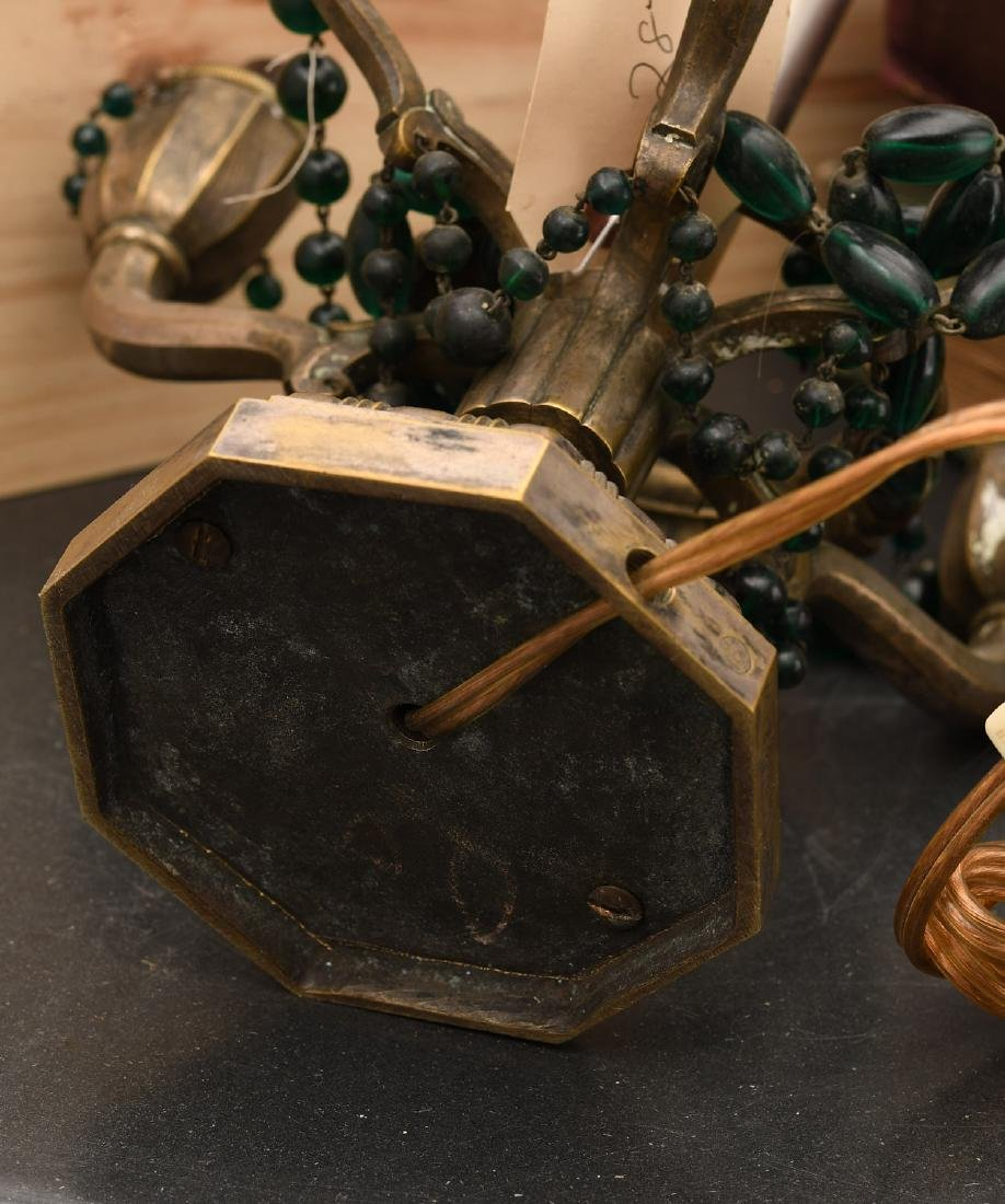 M. Paignant Art Deco candelabrum lamp - 8