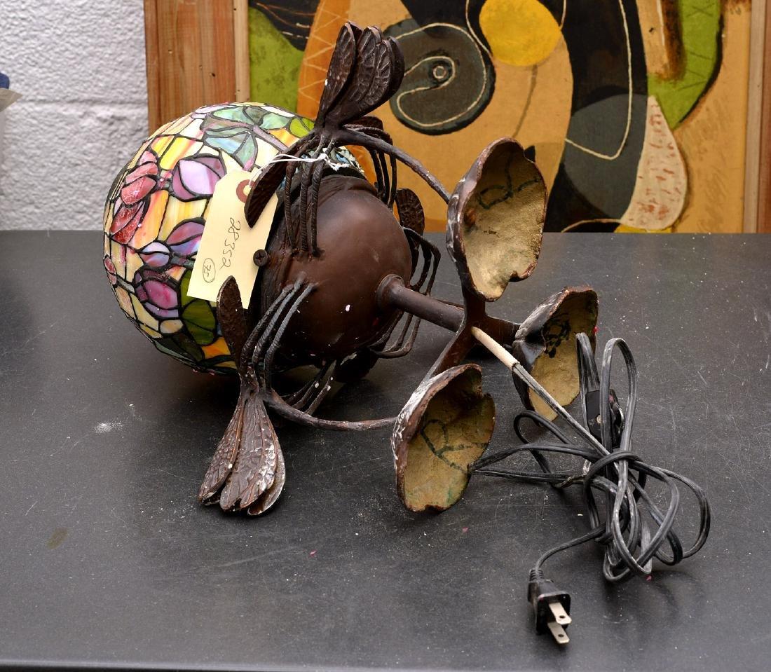 Art Nouveau style dragonfly lamp - 9