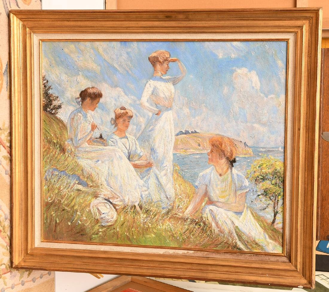 After Frank W. Benson, painting