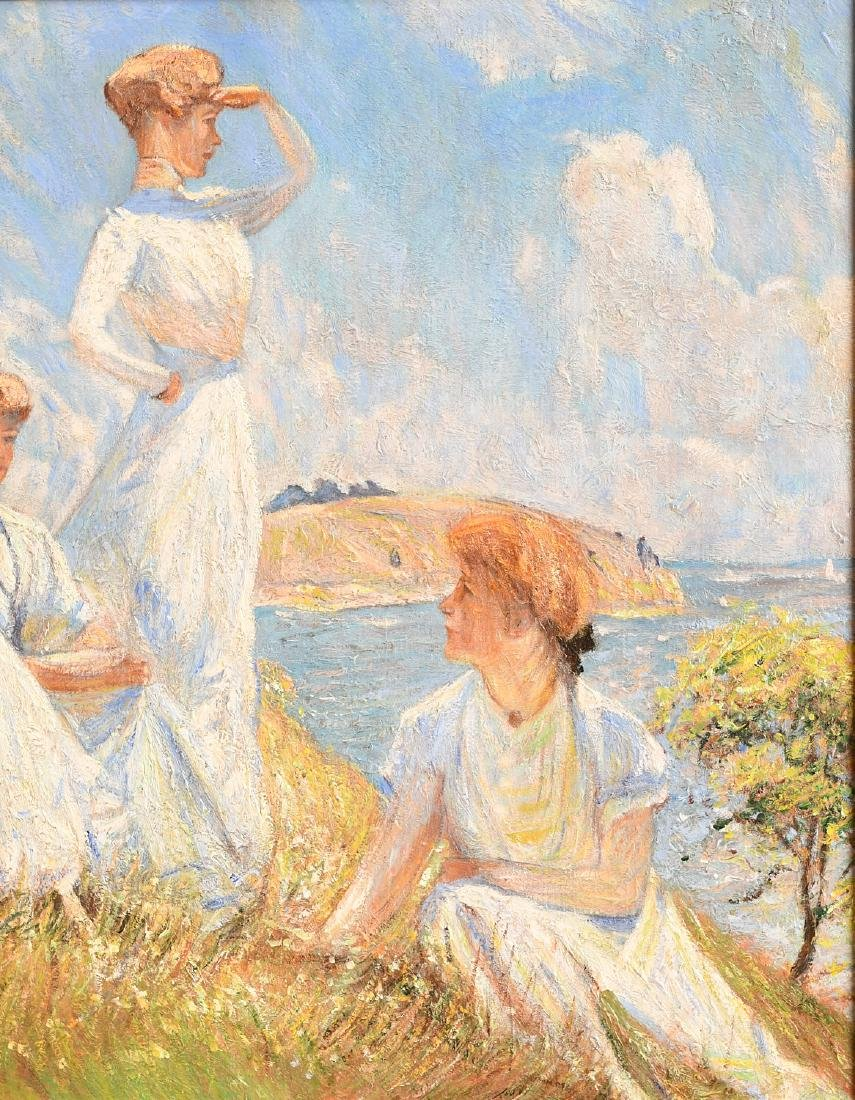 After Frank W. Benson, painting - 2
