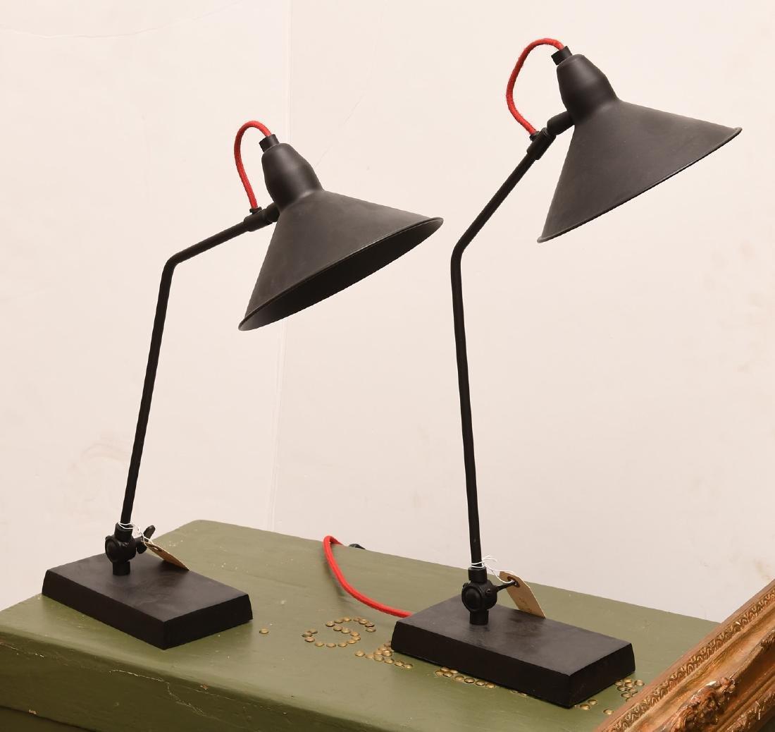 Pair Graham & Green desk lamps