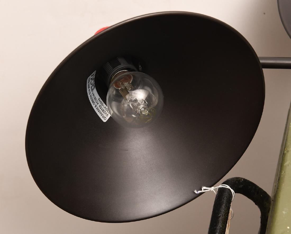 Pair Graham & Green desk lamps - 6